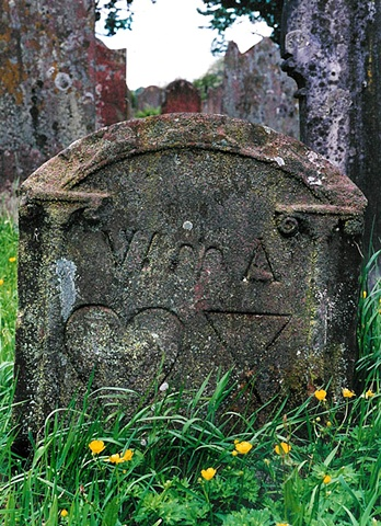 Child's Gravestone at Lanercost Priory