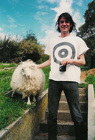 Graeme Downes and his Goat