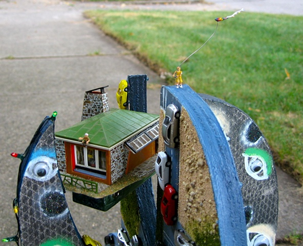 Close up of house