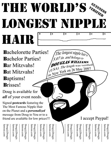 Nipple Hair Poster