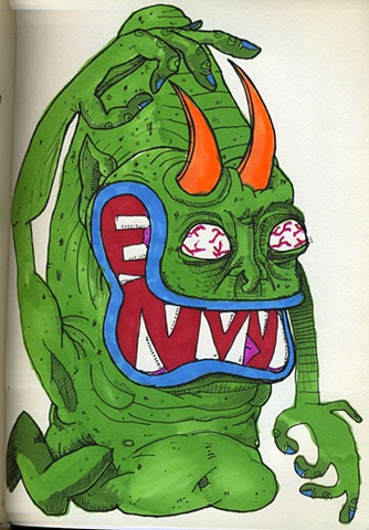 Envy monster