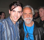 Tommy Chong and I @ CUFF
