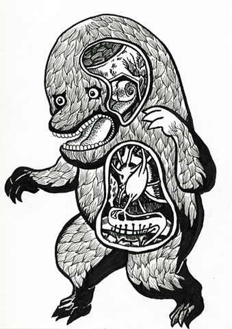 Japanese Folk Monster