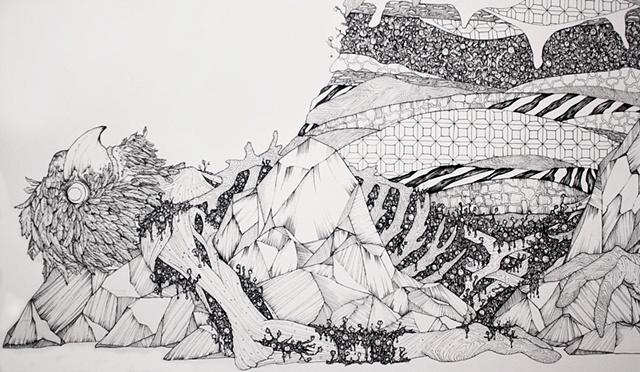 the Sleeping Moss (detail)