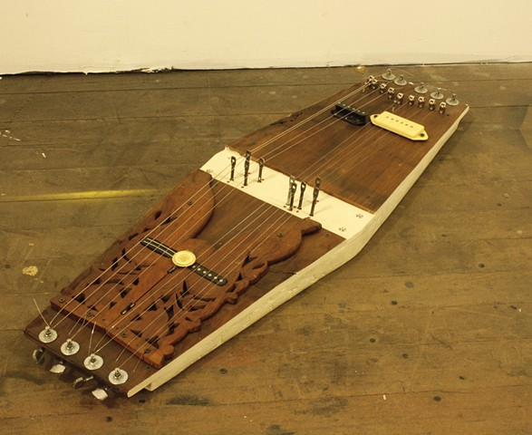Carved Dulcimer