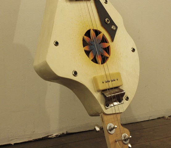 Rainbow Mandolin Detail