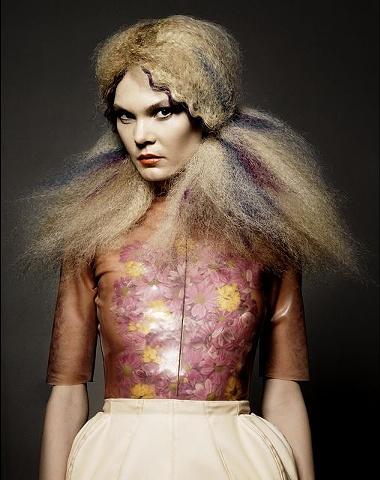 Norwegian Avant Garde Hairdresser of the Year Finalist 2012