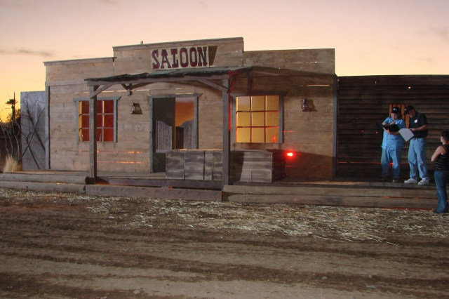old western town movie sets