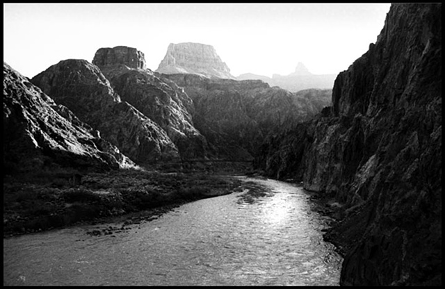 Colorado River at base of Grand Canyon