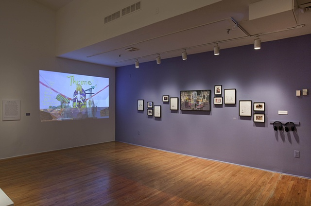 Installation shot of Country Ball 1989 - 2012 at The Studio Museum in Harlem exhibition Shift - Projects / Perspectives / Directions