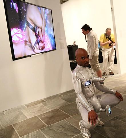 Reifying Desire 6 Installation shot at the Whitney Biennial 2014