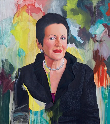 Portrait of the Lord Mayor of Sydney, Clover Moore