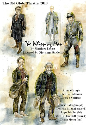 The Whipping Man sketches