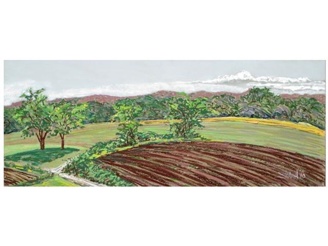 pastel landscape of RI