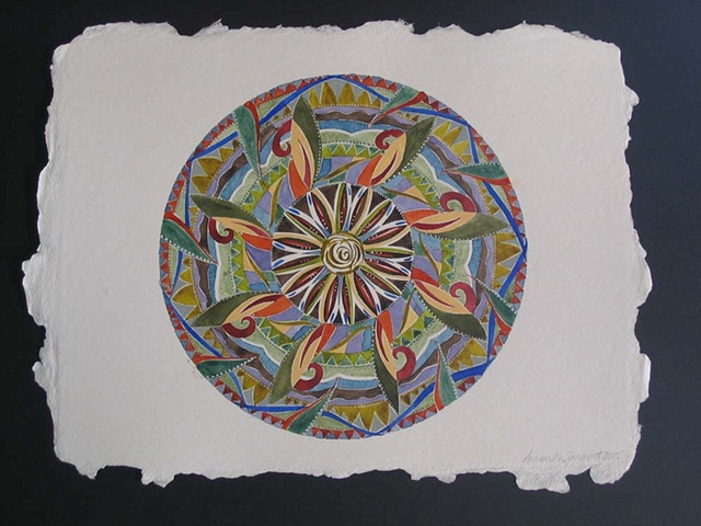 2006 Watercolor Mandalas