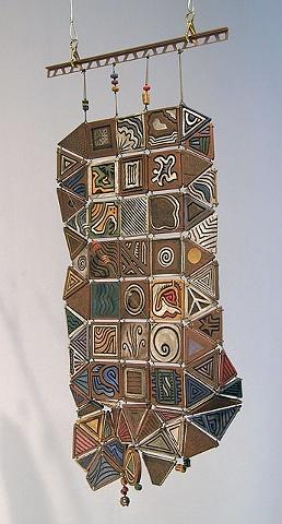 ceramic hanging tiles