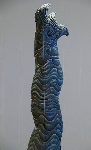 Black Water Dragon (detail)