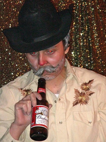 Drag King with a Beer 2