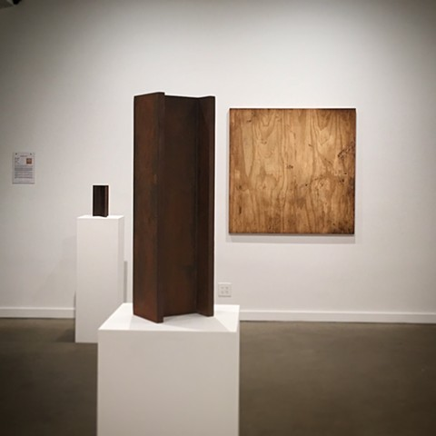 "Installation of ""Marks of the Trade"" at Lyons Wier Gallery"