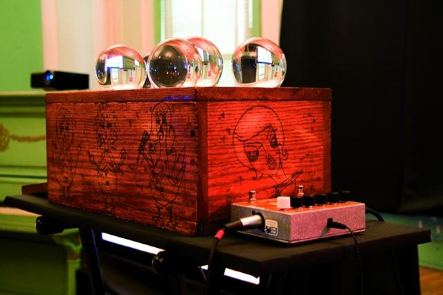 Crystal Ball Magic Box arduino video controller