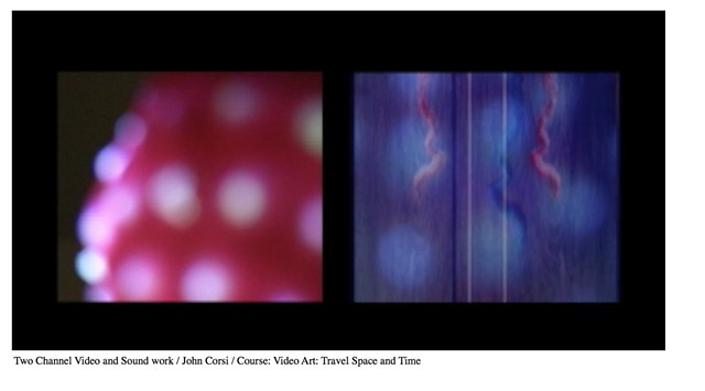Course: Video Art Travel Space and Time