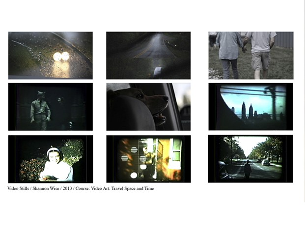 Course: Video Art - Travel Space and Time