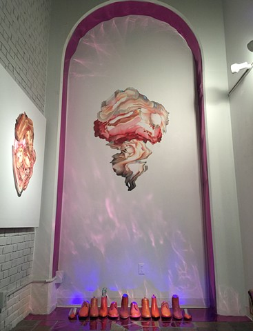 Electric Feminine Cosmic Hybrid (Mushroom)