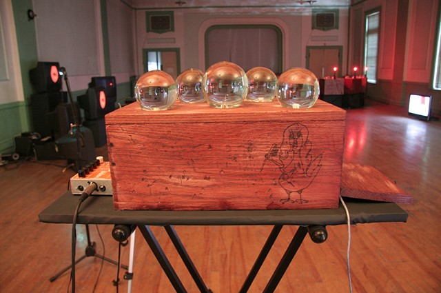 Crystal Ball Magic Box  Arduino Video Controller